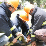 Fire Brigade Olympics for Jagna Barangays
