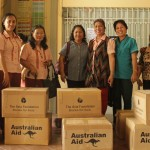 AusAid donates books to selected schools and barangays