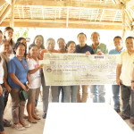 Naatang Women's Association recevied cash assistance from the DOLE for the BUB/GPBP project hog raising.