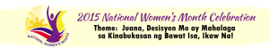 2015 Jagna Womens Month Celebration