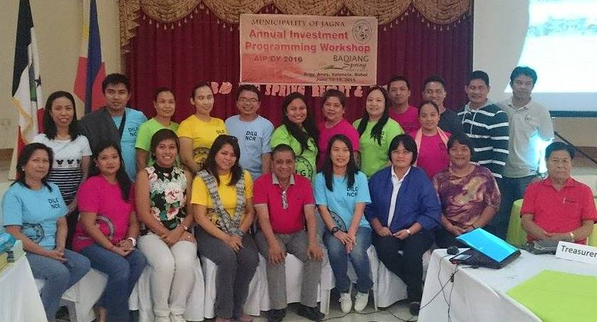DILG-NCR on GAD learning visit