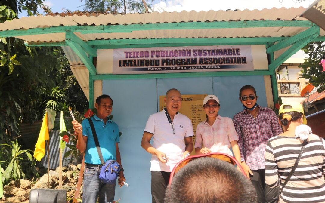 Barangay Tejero-Poblacion Livelihood Program Association Blessing and Ribbon Cutting