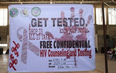 HIV Counseling and Testing @ Jagna Gym